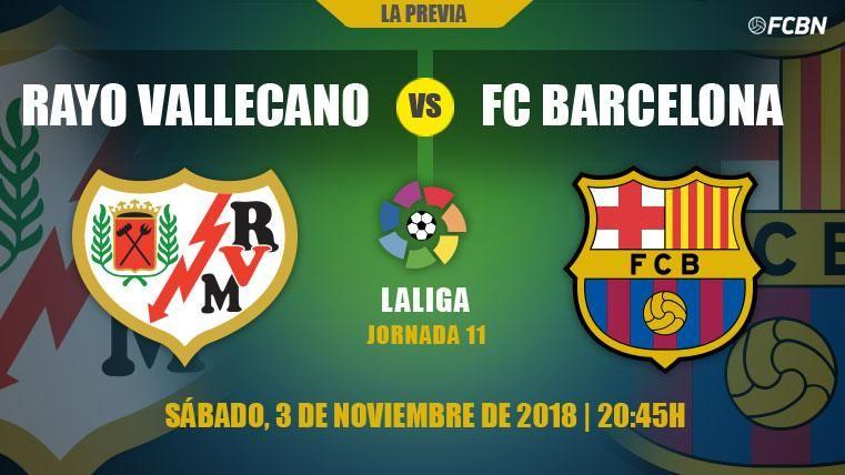 El Barcelona, a no despistarse contra el Rayo Vallecano tras un octubre mágico