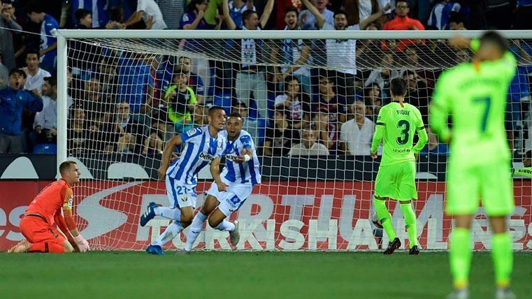 La lección de Leganés debe poner en alerta al Barça ante el Rayo
