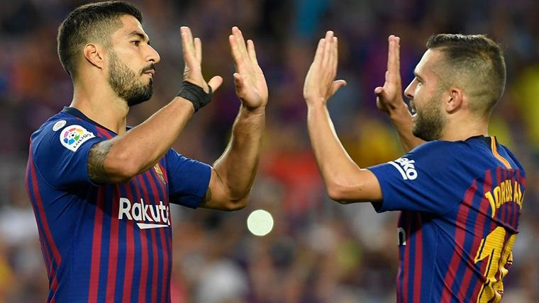La 'conexión Suárez-Alba' sigue en forma: Gran gol ante el Rayo