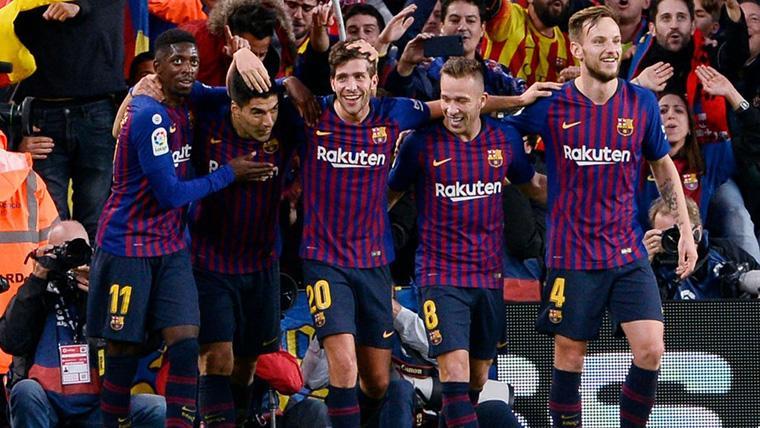 ¡Dembélé y Suárez remontaron el Rayo-Barça en tres minutos!