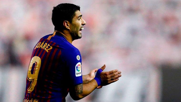 Suárez ejerce de líder: Satisfecho por los puntos, pero pide más al Barça