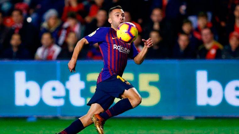 El plan del Barça para la 'difícil' renovación de Jordi Alba