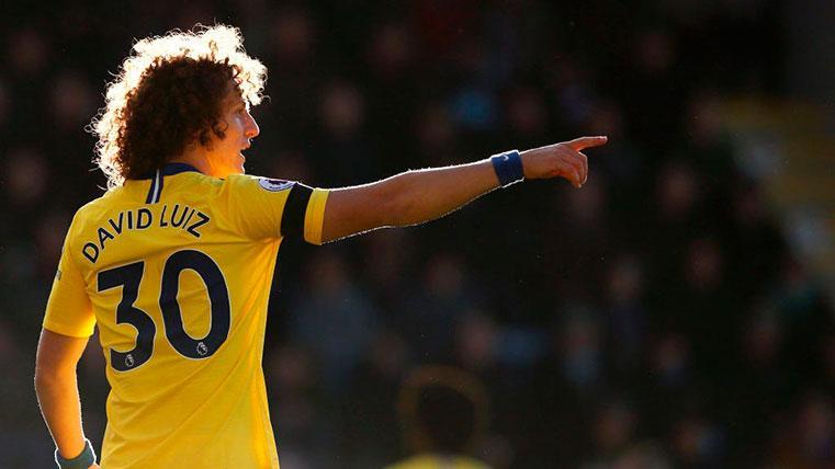 David Luiz, el central que habría elegido el Barcelona para enero
