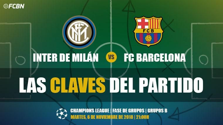Las claves del Inter de Milán-FC Barcelona de la J4 de la Champions