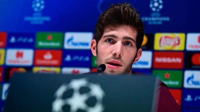 Sergi Roberto asegura que el Barça va por buen camino y lanza un mensaje a los canteranos