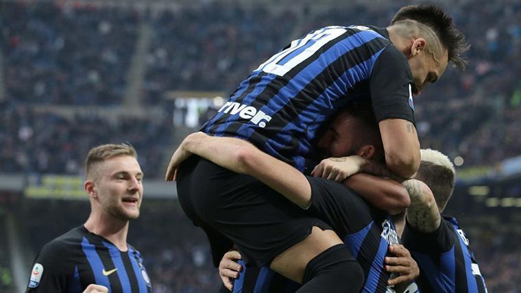 La espectacular racha del Inter de Milán que sólo cortó el Barça