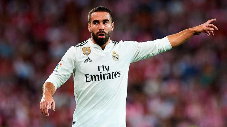 Nuevo incendio en el Real Madrid  Dani Carvajal defiende a Julen ... 45ac4e8fa723f