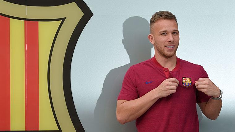 El Inter de Milán intentó fichar a Arthur antes que el Barça