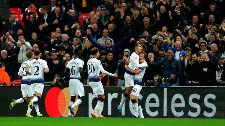 Así queda el grupo del Barcelona tras la victoria del Tottenham ante el PSV (2-1)
