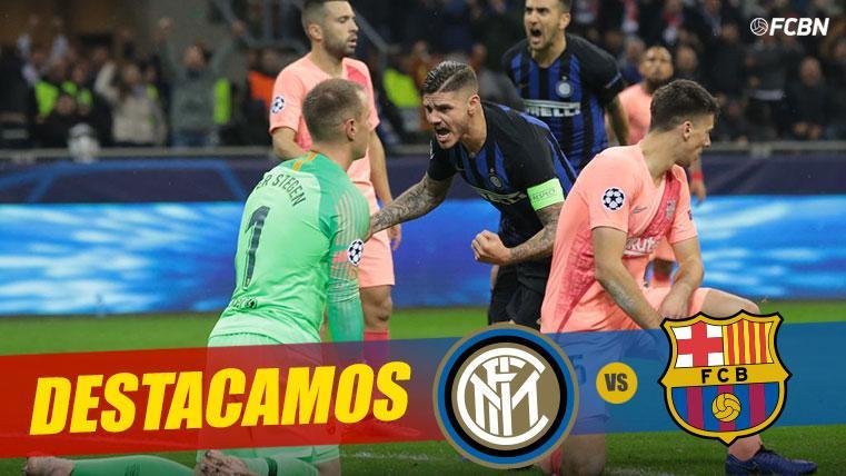 El Inter se le atraganta al Barça como visitante en Champions
