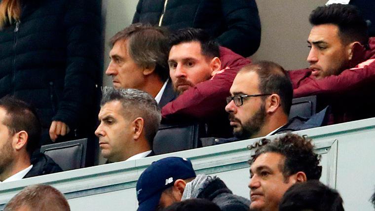Así vivió Leo Messi el gol de Malcom en el Giuseppe Meazza