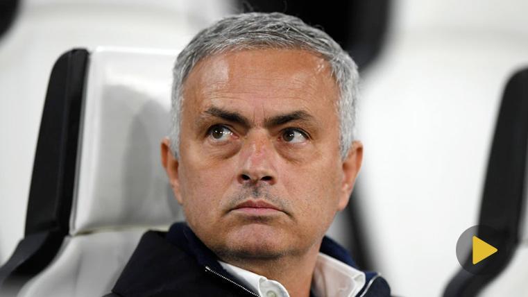 Títol de la imatgeJosé Mourinho explicó sus gestos