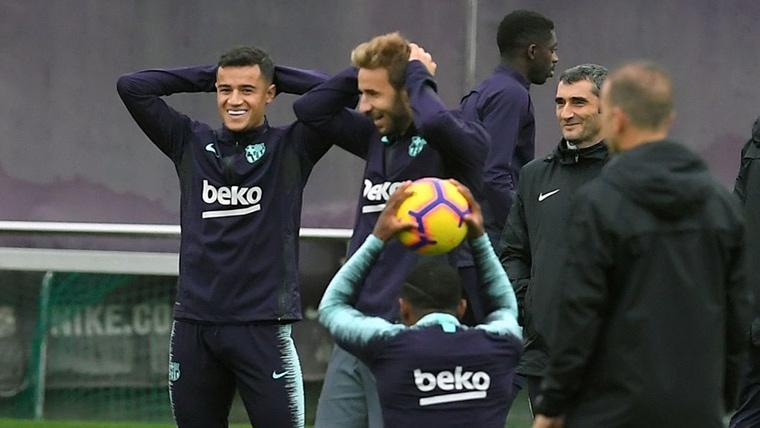 Lista de convocados de Valverde para el FC Barcelona-Real Betis