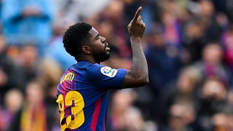 El regreso de Samuel Umtiti con el Barcelona ya es inminente