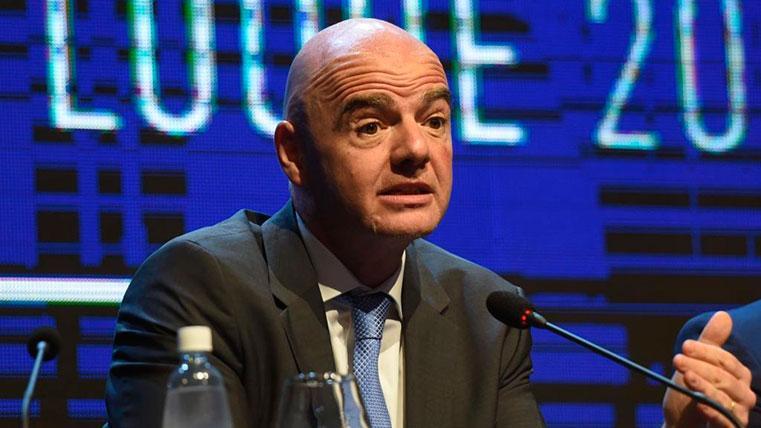 La amenaza de Infantino sobre la creación de la Superliga Europea