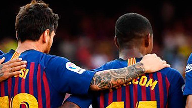 Messi le habría echado un 'capote' a Malcom