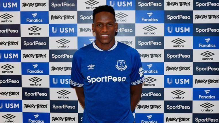 El reto mayúsculo de Yerry Mina en la Premier con el Everton