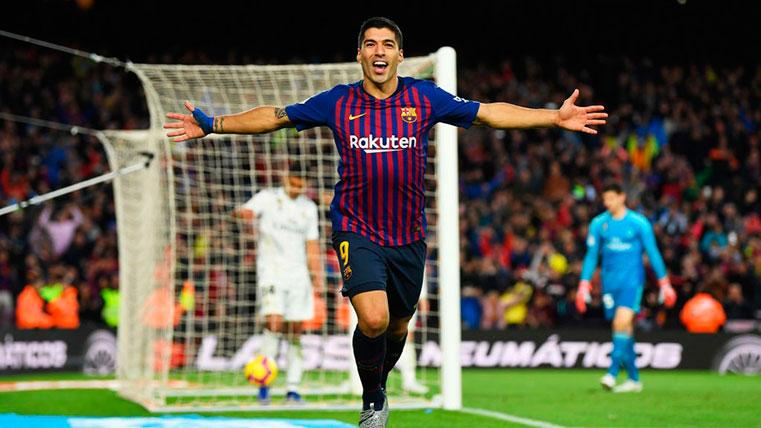 Luis Suárez, jugador de LaLiga en octubre
