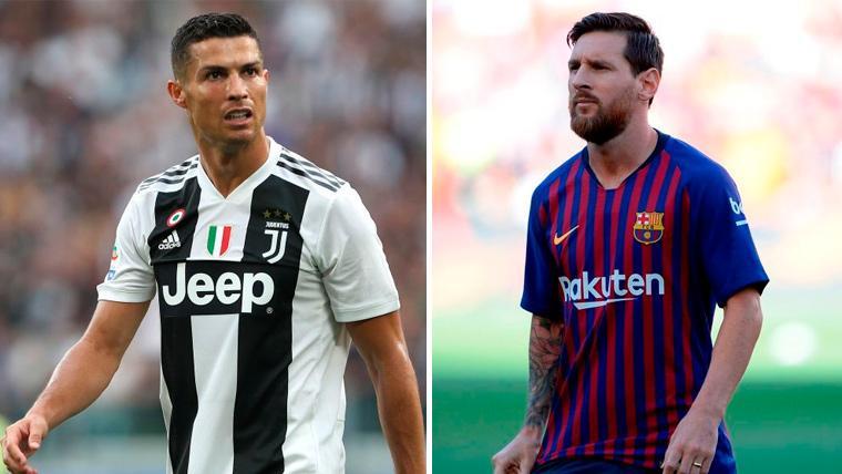 Cristiano Ronaldo y Leo Messi, aspirantes al Balón de Oro 2018