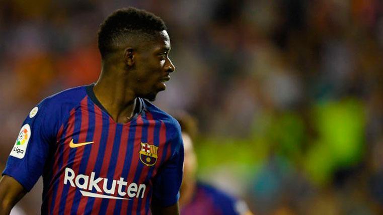 Ousmane Dembélé tendría contrariado al Barcelona