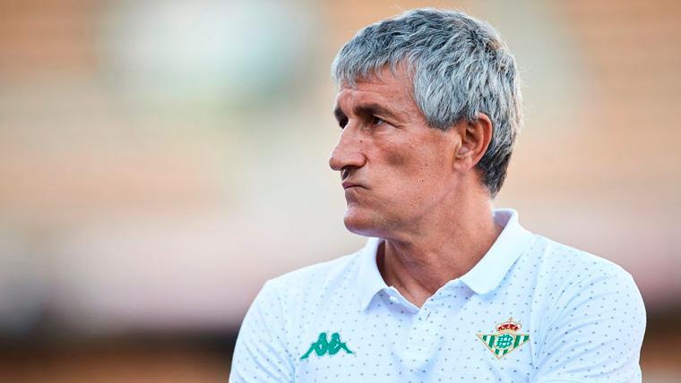 Setién habla de su estrategia para ganar al Barça y del reencuentro con Bartra y Tello