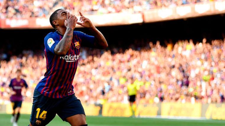 Examen y oportunidad para Malcom en el Camp Nou