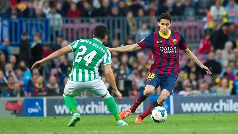 El emotivo mensaje de Marc Bartra antes de volver a casa para un Barça-Betis