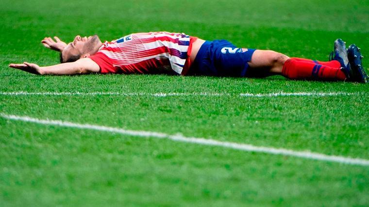 Atlético de Madrid ganó con gol de Godín en la hora