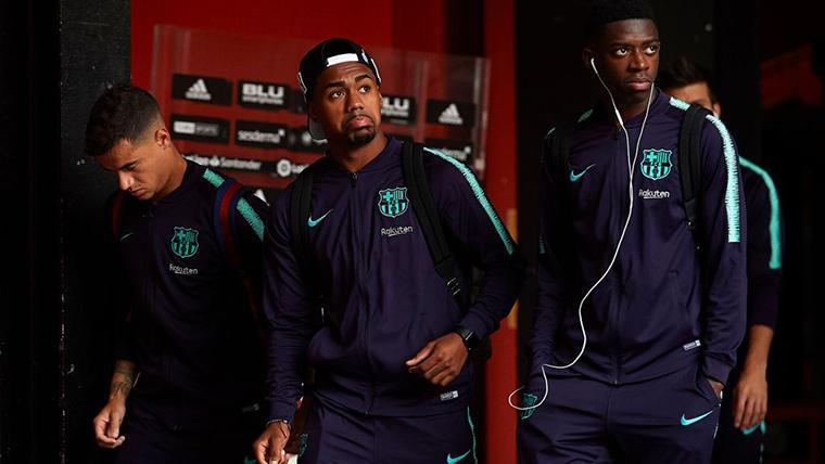 La situación Dembélé-Barça pone en alerta a Malcom y Rafinha