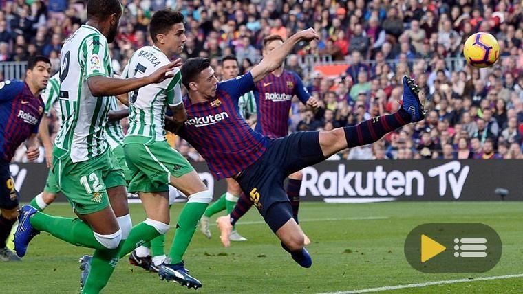 Vídeo resumen: FC Barcelona 3 Real Betis 4 (LaLiga J12)