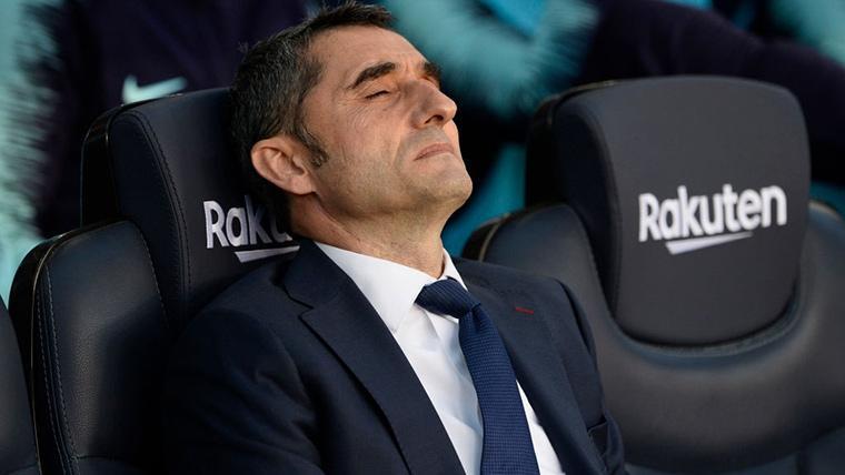 Primera derrota liguera del Barça de Valverde en el Camp Nou
