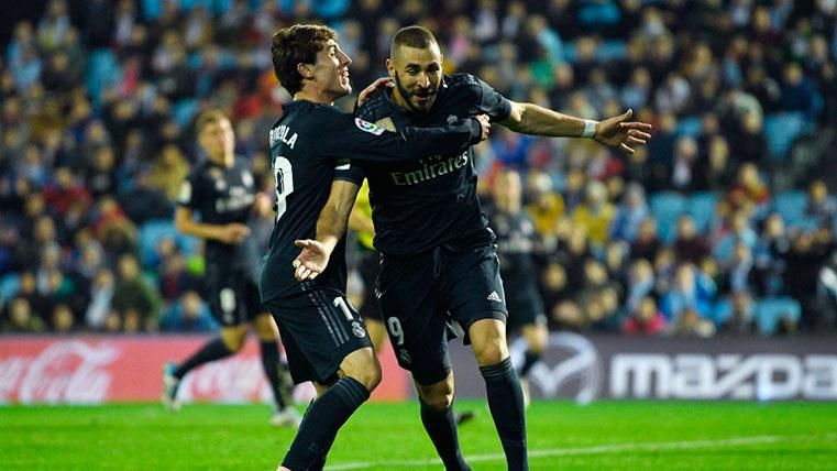 El Real Madrid derrota al Celta y mete presión al Barcelona (2-4)
