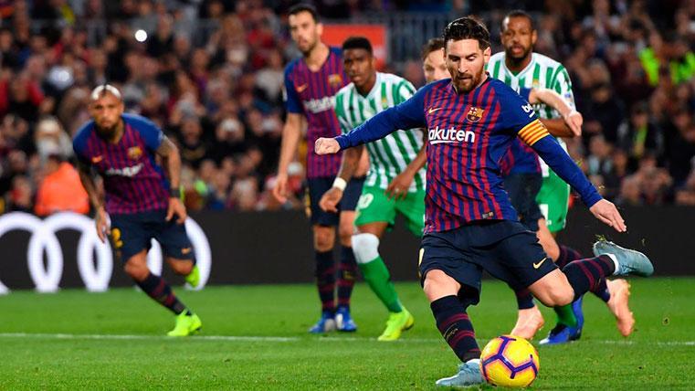 Messi empata con Luis Suárez en el 'Pichichi' de LaLiga 2018-19