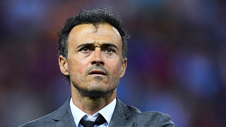 Luis Enrique cree que el Barça luchará por todo