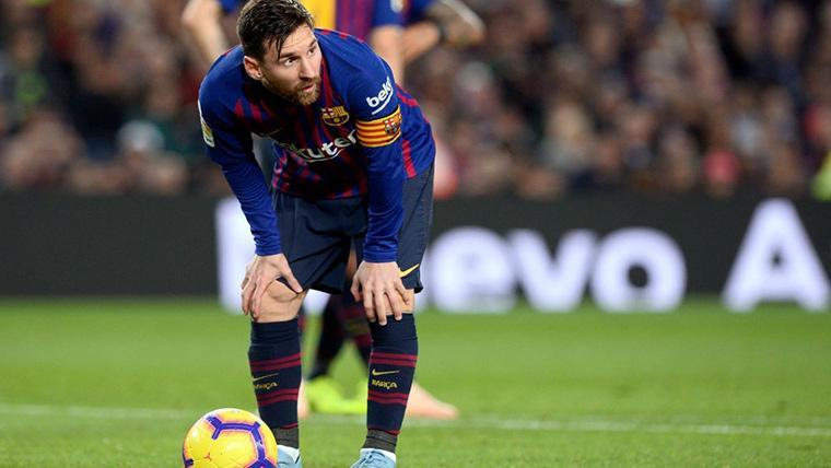 La confesión de Leo Messi justo antes del FC Barcelona-Betis