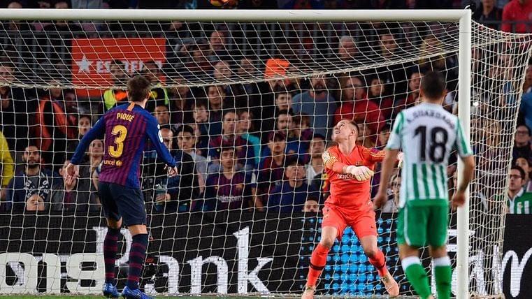Demasiados goles encajados por el Barça esta temporada