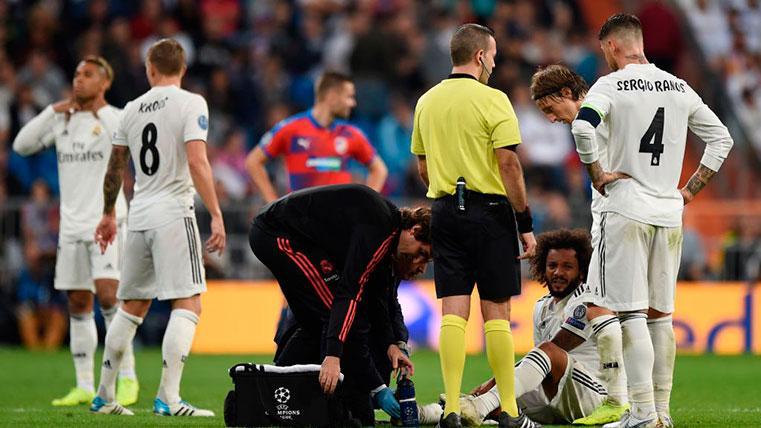 La tremenda lista de lesionados del Real Madrid: hasta nueve jugadores, en el dique seco