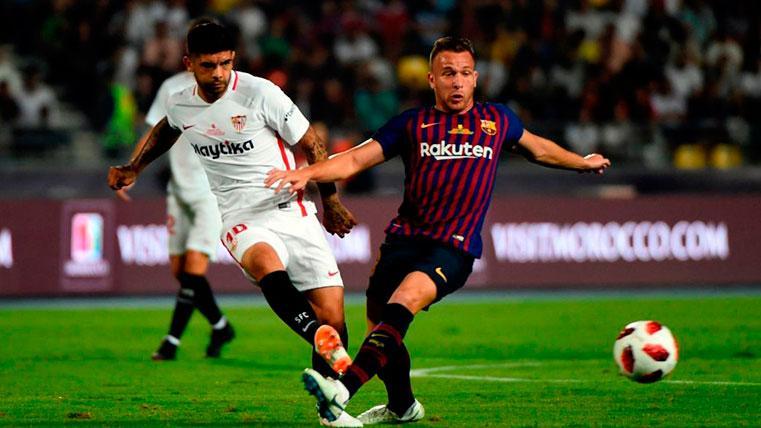 Arthur es titular para Valverde, pero siempre acaba sustituido