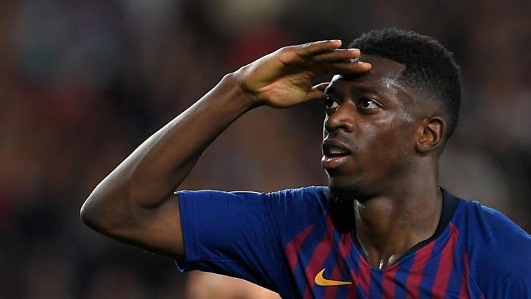 Dudas sobre el presunto 'castigo' del FC Barcelona a Dembélé
