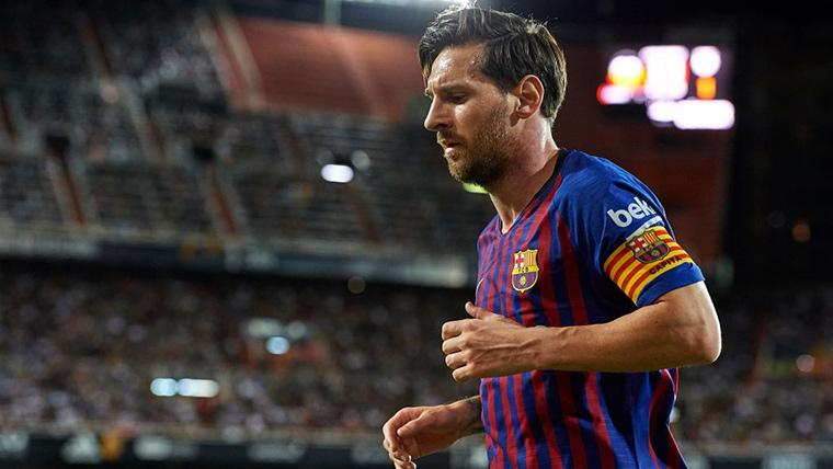 Las nuevas botas que destacan la 'fidelidad' de Messi al Barça