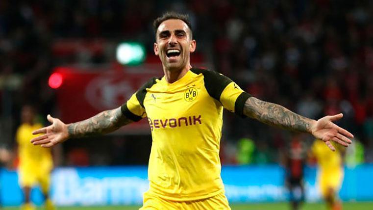 Paco Alcácer se está saliendo en Dortmund