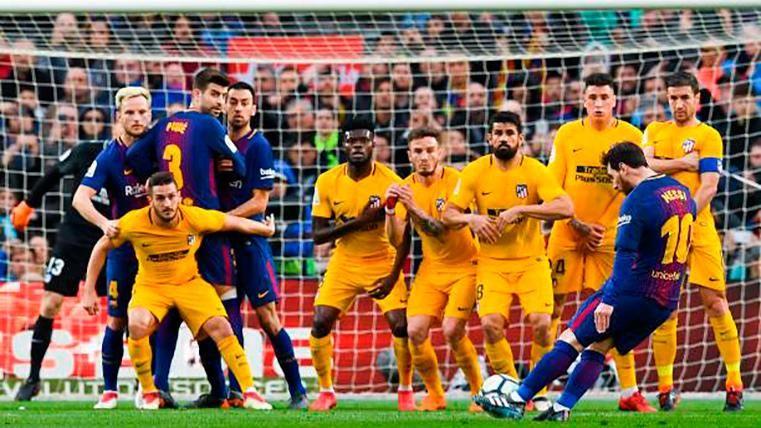 Juanfran elogió a Messi