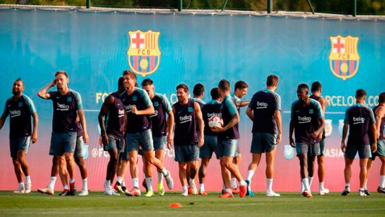 El mercado invernal puede traer un nuevo refuerzo al Barça