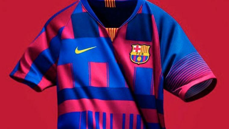 Nike lanza una camiseta para celebrar los 20 años con el Barça