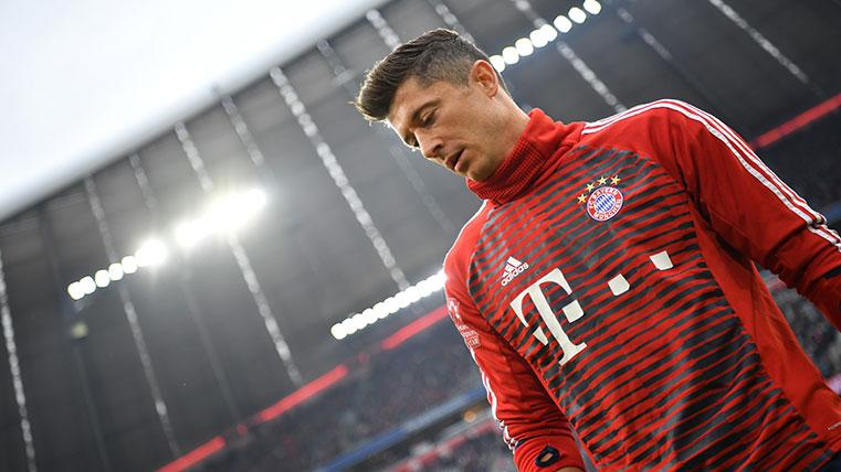 Lewandowski llegó al Bayern de Múnich a coste cero