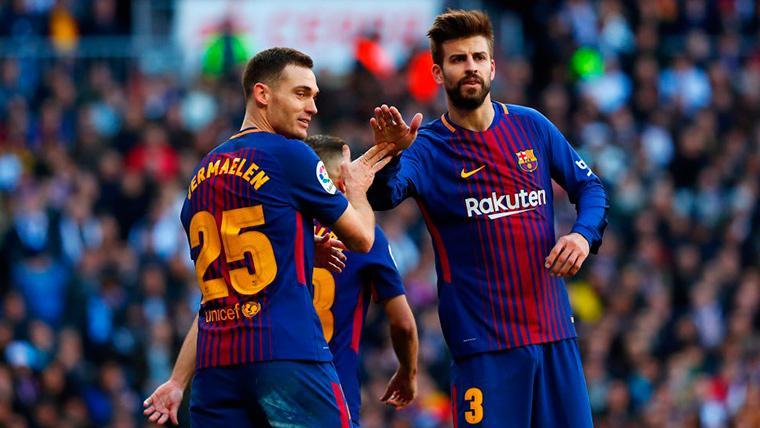 El destino prioritario de Thomas Vermaelen cuando deje el Barça