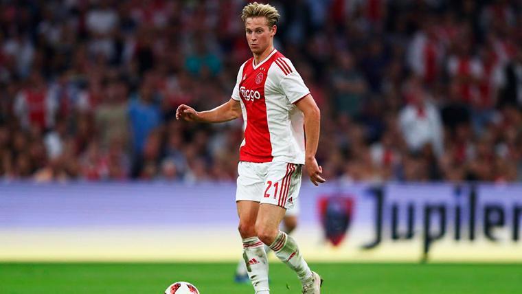 Frenkie de Jong, durante un compromiso con el Ajax de Amsterdam