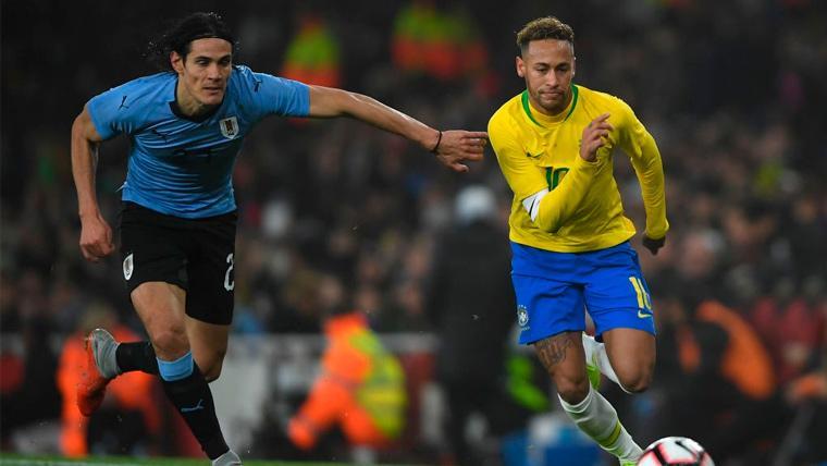 Neymar explota y responde a la prensa por la polémica creada con Cavani