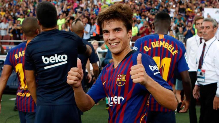 Los dos factores que tranquilizan al Barça respecto al interés en Riqui Puig