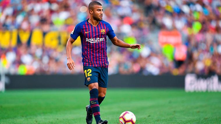 Mazinho explota por la situación de Rafinha en el FC Barcelona